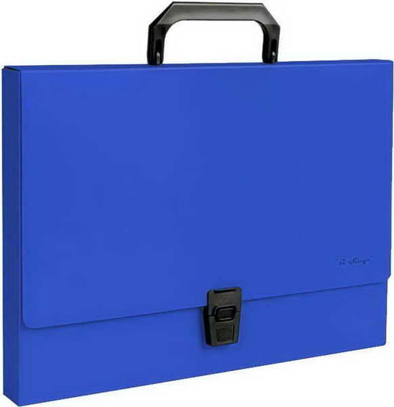 Berlingo Папка-портфель Standard цвет синий академия групп папка портфель а4 с ручкой тачки