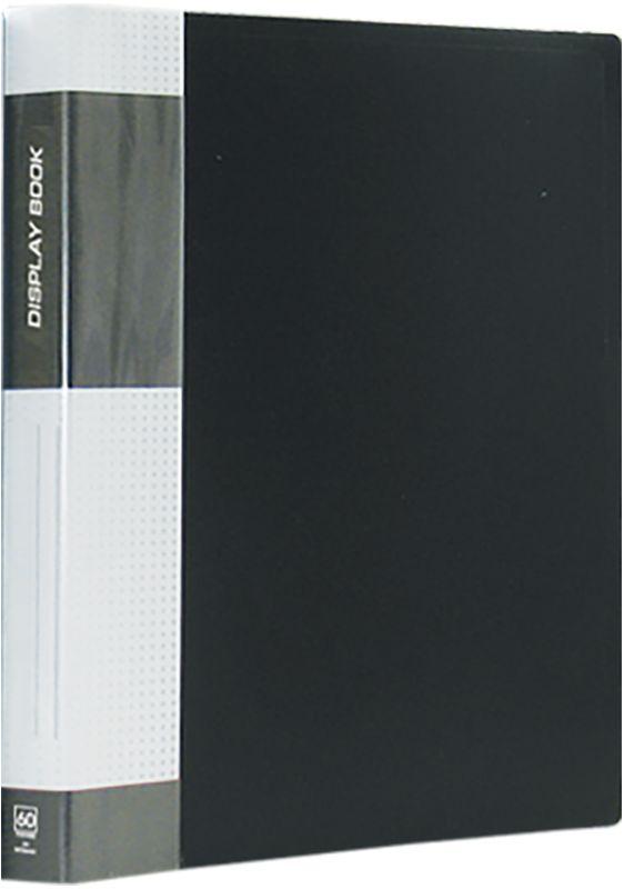Berlingo Папка Standard с 60 вкладышами цвет черный berlingo папка standard с 80 вкладышами цвет зеленый