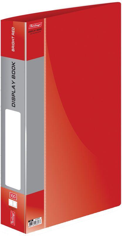 Berlingo Папка Standard со 100 вкладышами цвет красный berlingo папка standard с 80 вкладышами цвет зеленый
