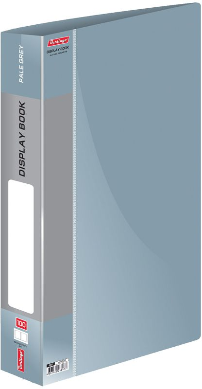 Berlingo Папка Standard со 100 вкладышами цвет серый berlingo папка standard с 80 вкладышами цвет зеленый