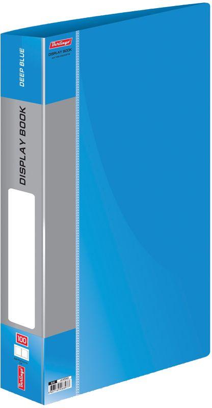 Berlingo Папка Standard со 100 вкладышами цвет синий berlingo папка standard с 80 вкладышами цвет зеленый