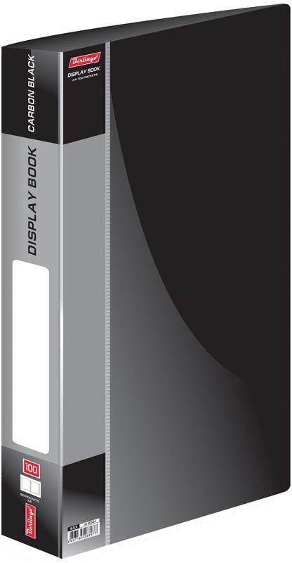 Berlingo Папка Standard со 100 вкладышами цвет черный berlingo папка standard с 80 вкладышами цвет зеленый