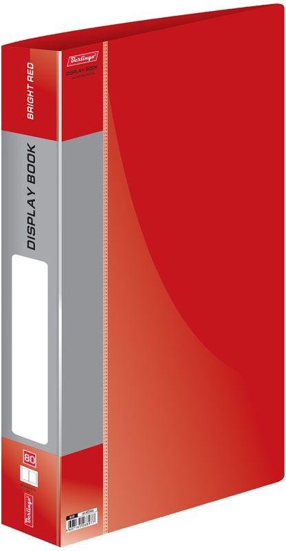 Berlingo Папка Standard с 80 вкладышами цвет красный berlingo папка standard с 80 вкладышами цвет зеленый