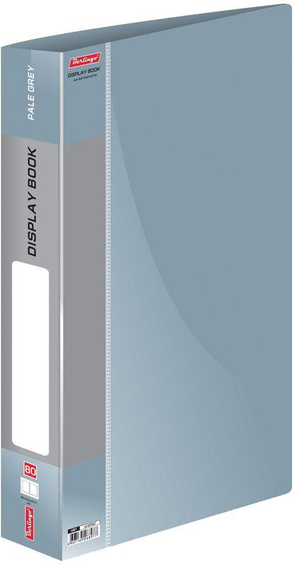 Berlingo Папка Standard с 80 вкладышами цвет серый berlingo папка standard с 80 вкладышами цвет зеленый
