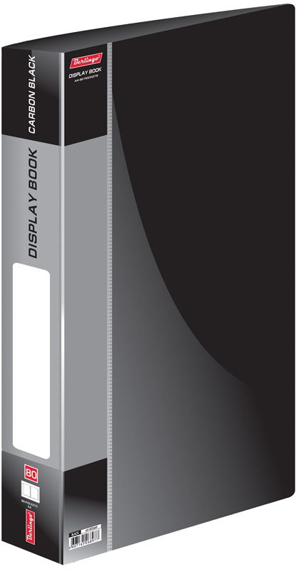 Berlingo Папка Standard с 80 вкладышами цвет черный berlingo папка standard с 80 вкладышами цвет зеленый