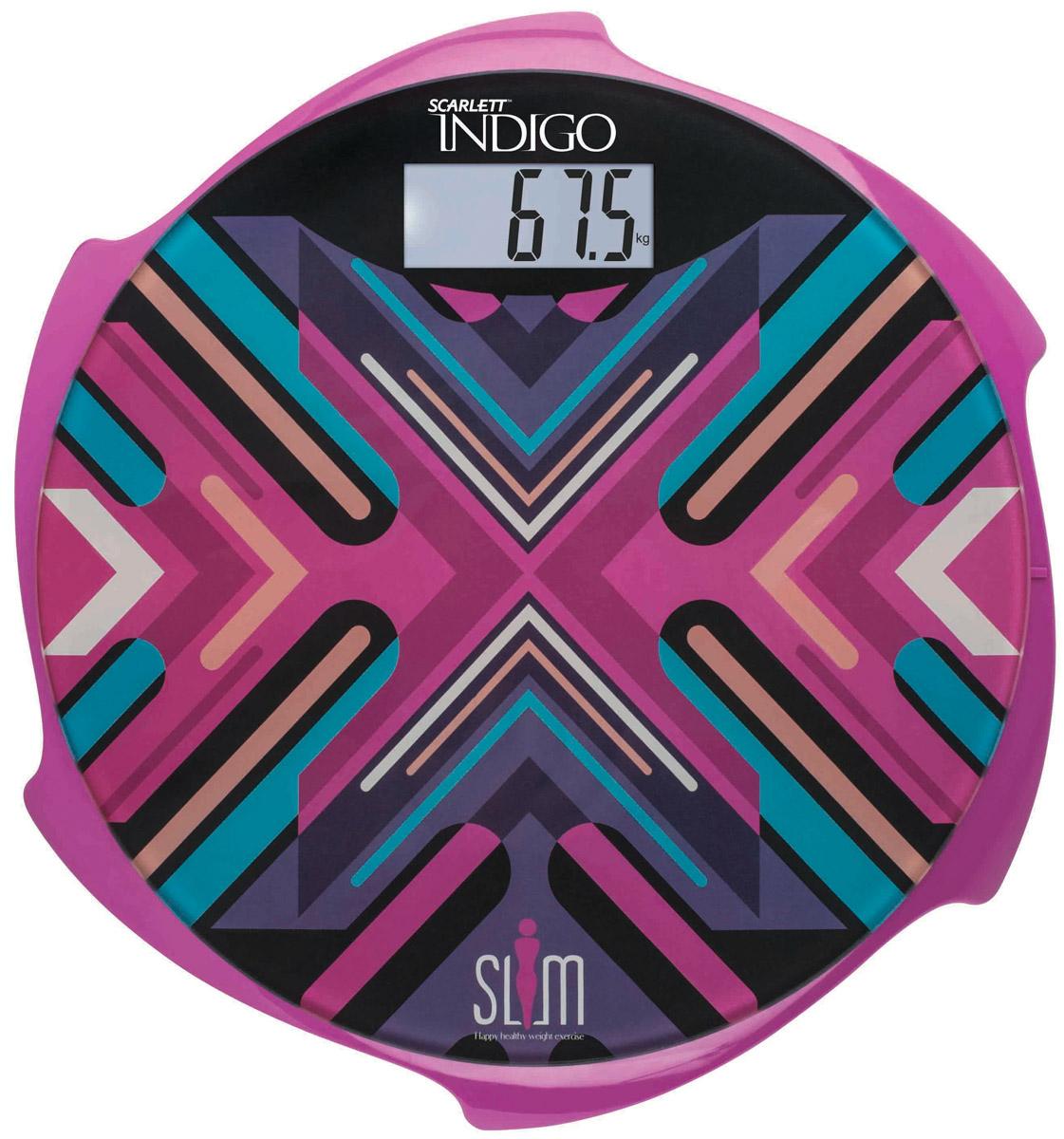 Напольные весы Scarlett IS-BS35E601 Indigo