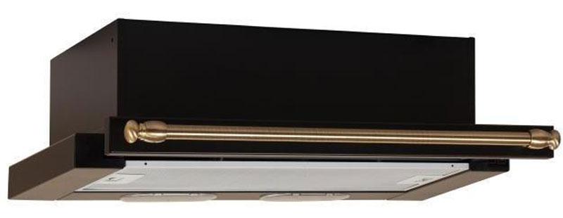Elikor Интегра 60П-400-В2Л, Antracite Bronze встраиваемая вытяжка