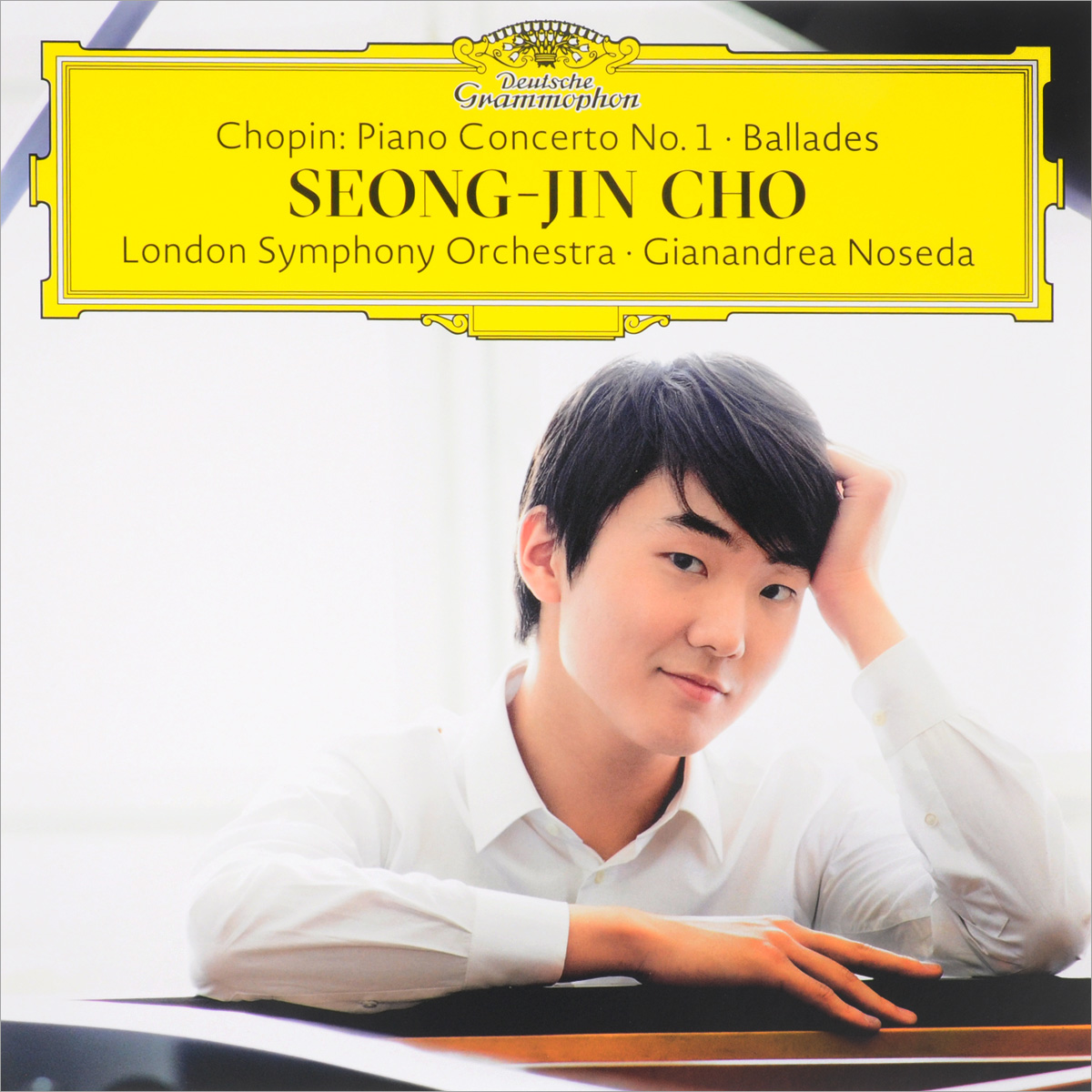 Сон Чжин Чо,The London Symphony Orchestra,Жанандреа Нозеда Seong-Jin Cho, London Symphony Orchestra, Gianandrea Noseda. Chopin. Piano Concerto No. 1 / Ballades (2 LP) sterne laurence the works of laurence sterne
