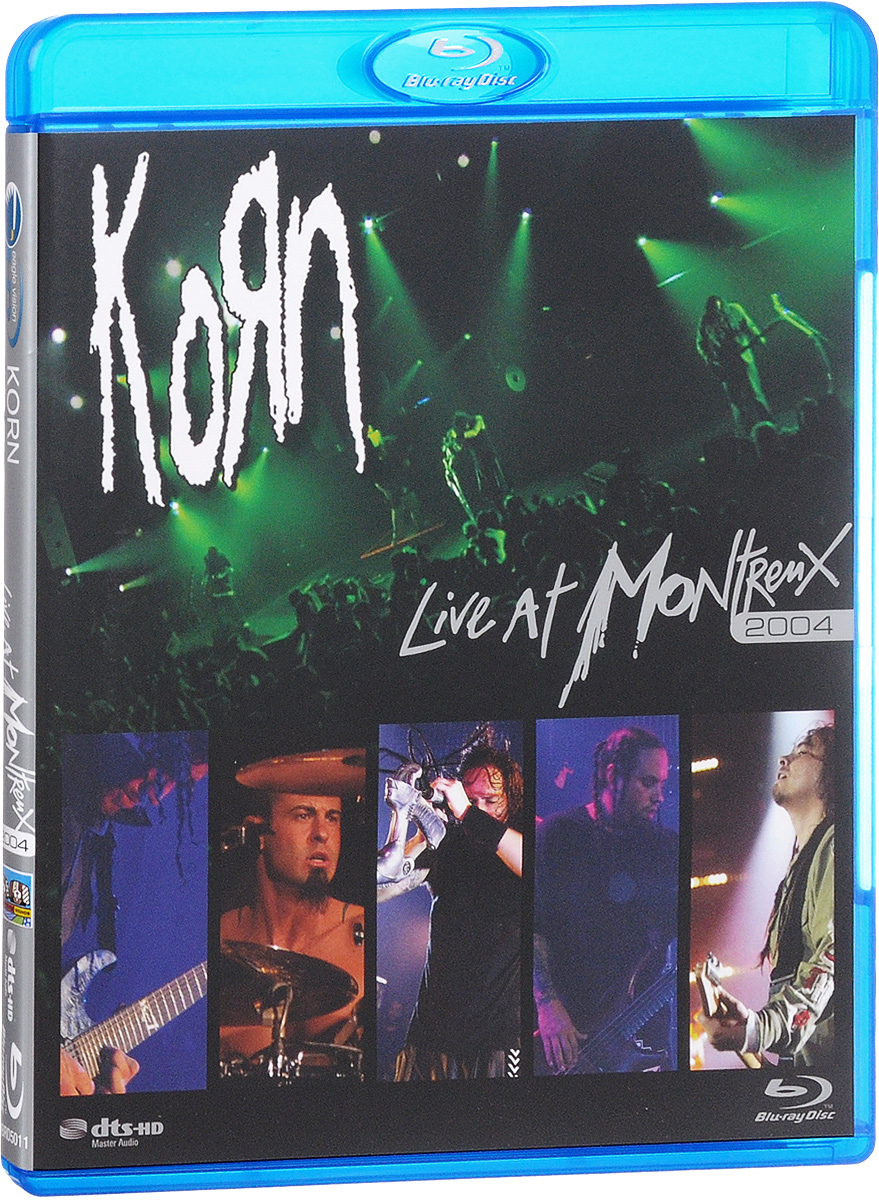 Korn: Live At Montreux 2004 (Blu-ray) status quo pictures live at montreux 2009 blu ray