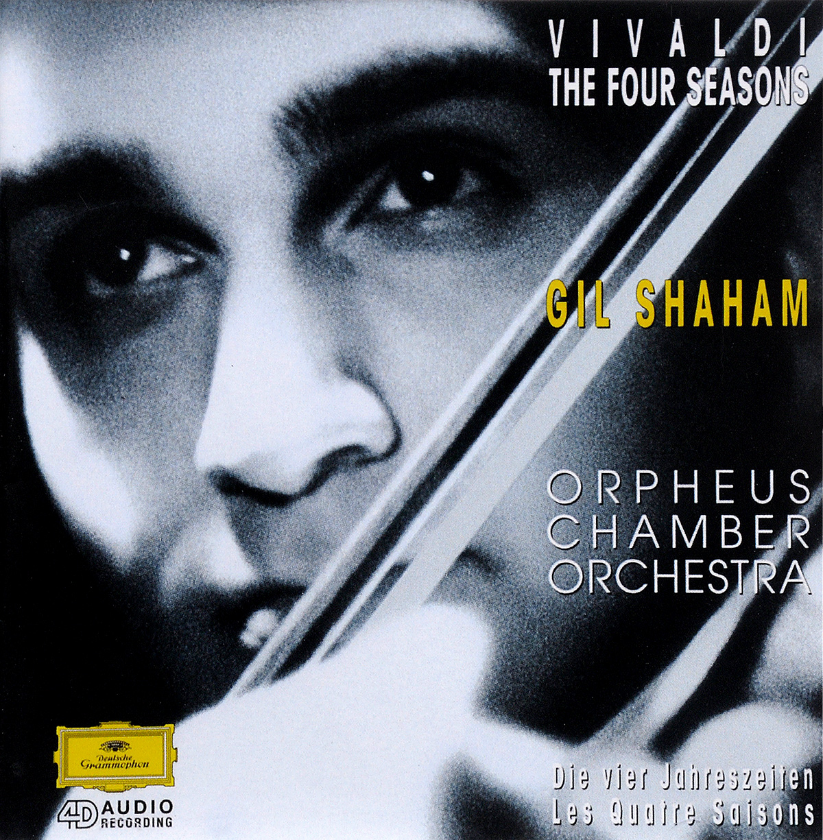 цена Гил Шахам,Orpheus Chamber Orchestra Gil Shaham, Orpheus Chamber Orchestra. Vivaldi. Die Vier Janreszeiten Les Quatre Saisons онлайн в 2017 году