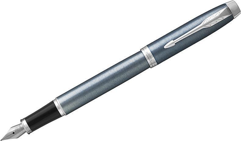 Parker Ручка перьевая IM Light Blue Grey CT синяя ручка перьевая parker im core light blue grey ct