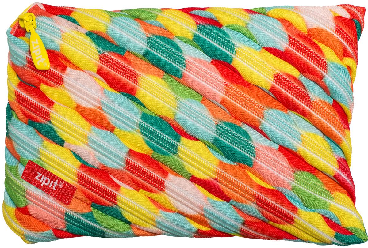 Zipit Пенал Colors Jumbo Pouch цвет мультиколор ZTJ-CZ-LBUB zipit пенал сумочка colors pouch цвет мульти полоски