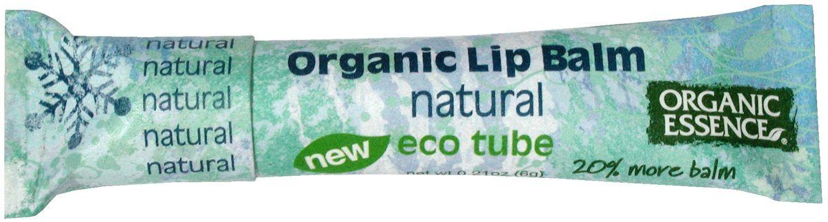 Organic Essence Органический бальзам для губ, Натуральный 6 г