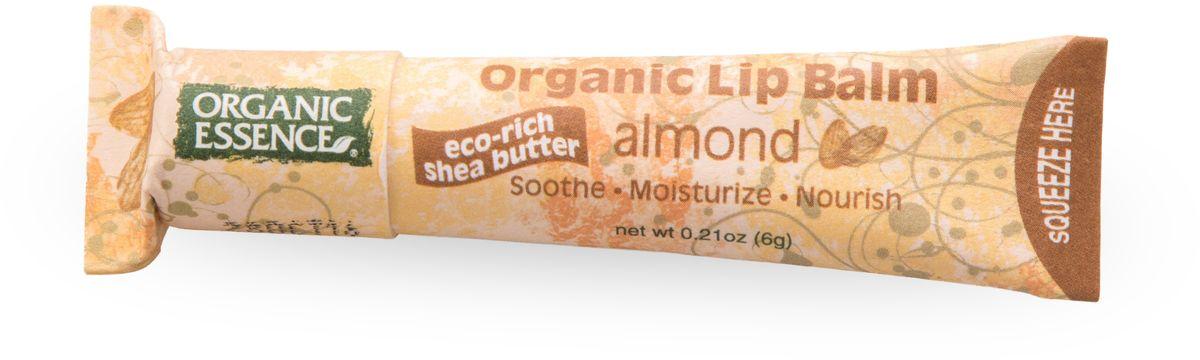 Organic Essence Органический бальзам для губ, Миндаль 6 г