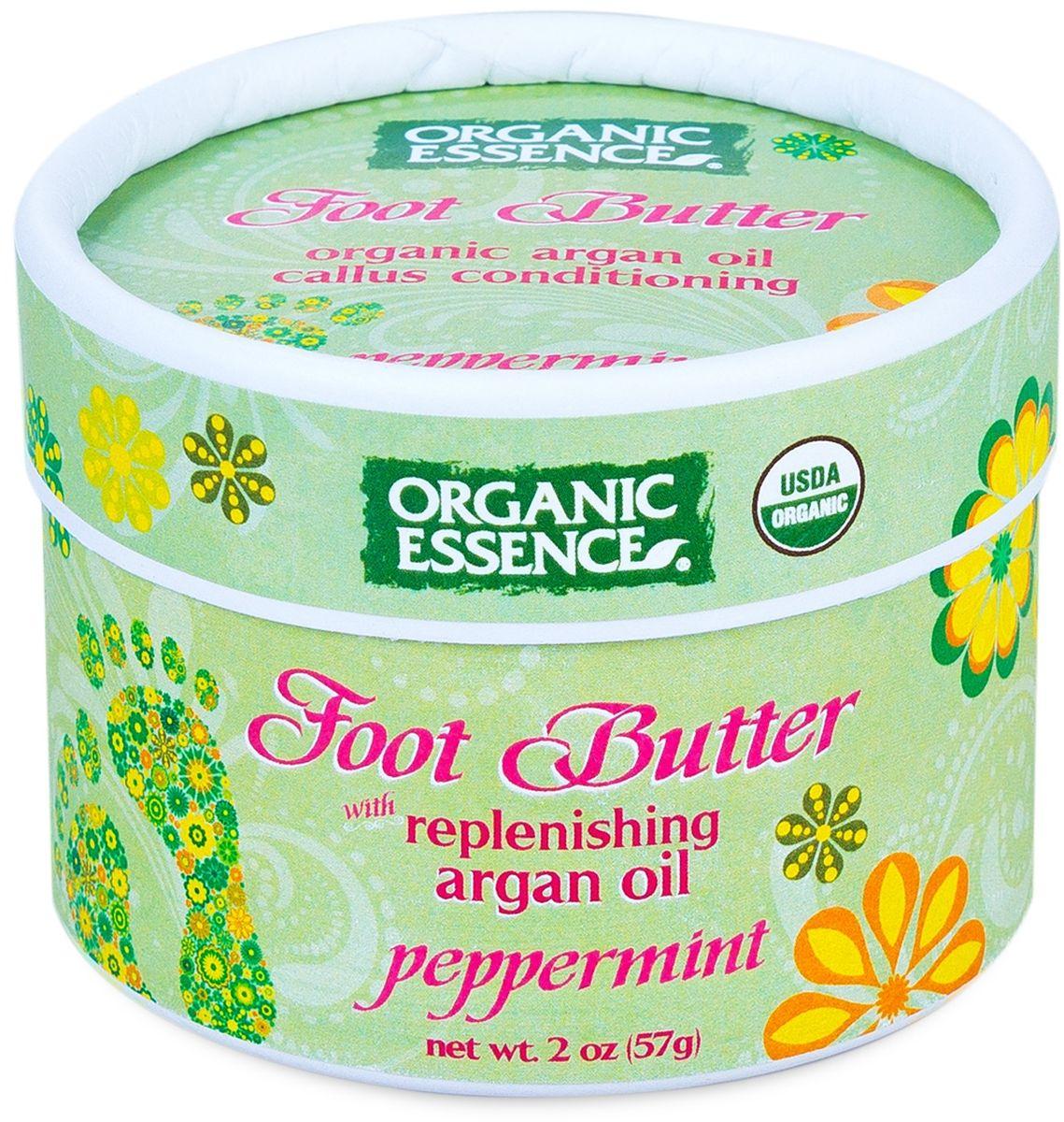 Organic Essence Органический крем для ног Мята перечная 57 гр green mama перечная мята и шалфей дезодорант для ног