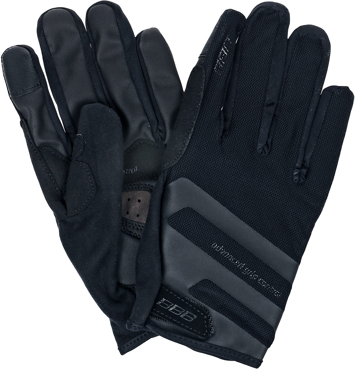 """Перчатки велосипедные BBB """"AirZone"""", цвет: черный. Размер XXL"""