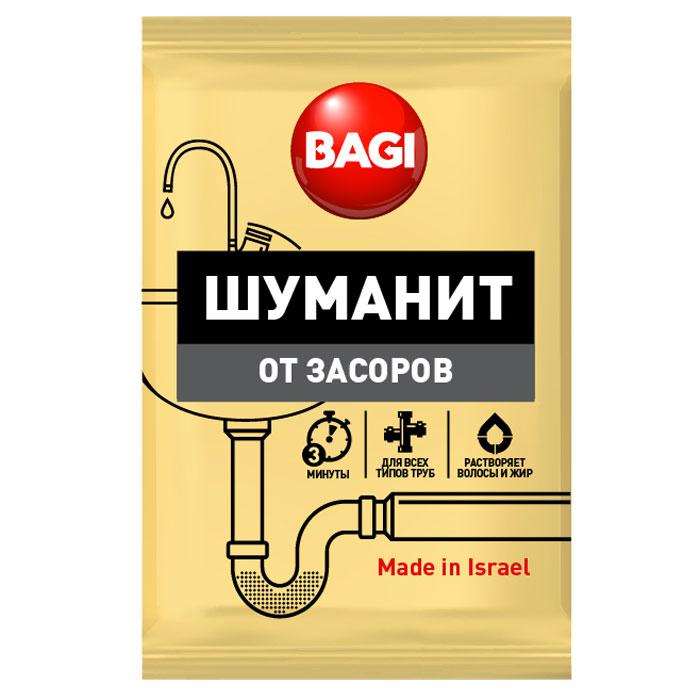 Средство для ванной и туалета Bagi Шуманит, от засоров, 70 г nagara средство для очистки туалета 500 мл