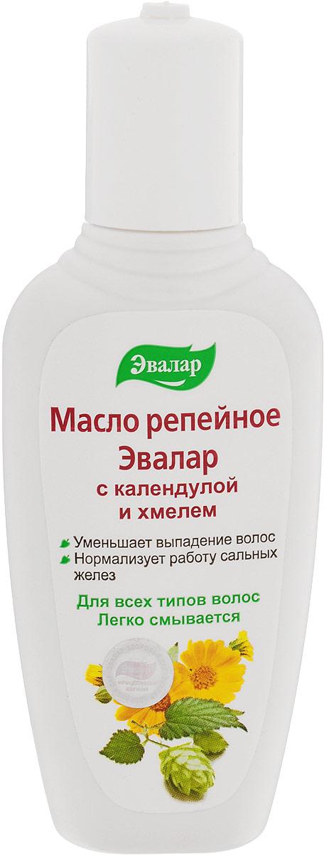 Эвалар Масло репейное с календулой и хмелем 100 мл (от выпадения волос) Эвалар