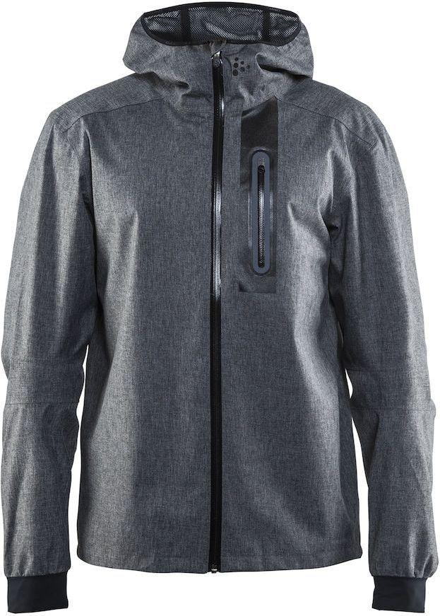 Куртка мужская для велоспорта Craft Ride Rain, цвет: серый. 1905008. Размер M куртка мужская reebok od dwnlk jckt цвет черный d78631 размер m 50