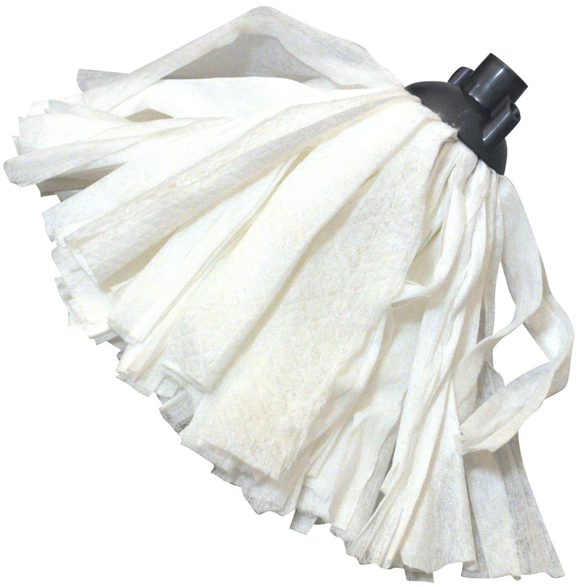 Насадка для швабры HomeQueen, цвет: белый. 57110 насадка губка для швабры homequeen чудо спонж сменная