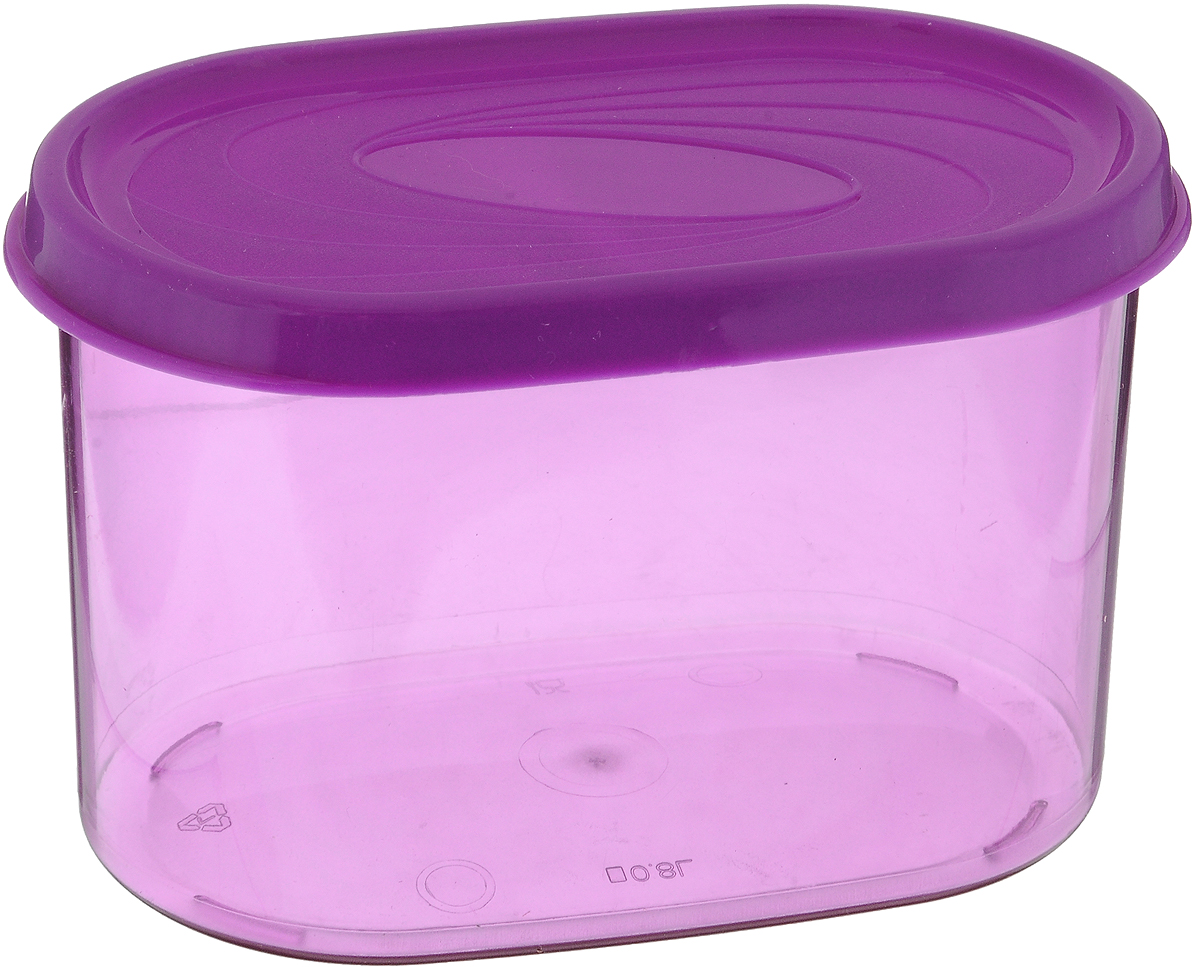 Банка для сыпучих продуктов Giaretti, цвет в ассортименте, 800 мл банка для сыпучих продуктов giaretti цвет фиолетовый 800 мл
