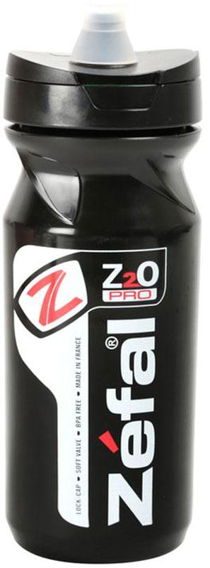 """Фляга велосипедная Zefal """"Z2O Pro 65"""", цвет: черный, 650 мл"""