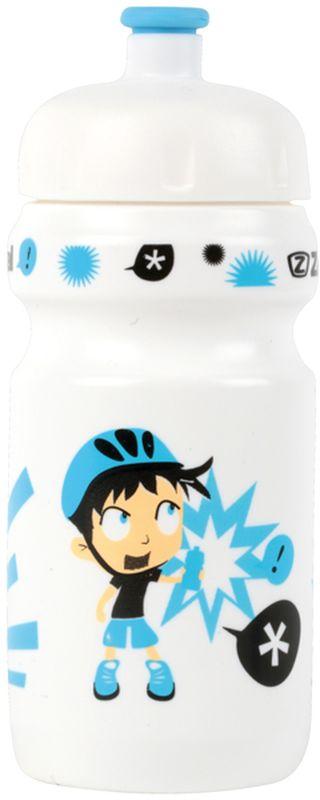 Фляга велосипедная Zefal Little Z - Z-Boy, детская, цвет: белый, 350 мл фляга велосипедная zefal magnum цвет белый 1 л 164с