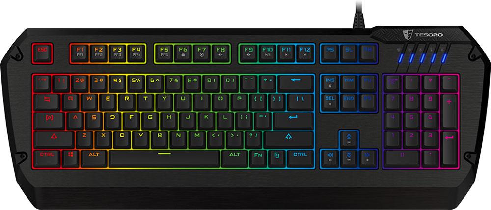цена на Игровая клавиатура Tesoro Colada Evil Spectrum (Cherry MX Blue)