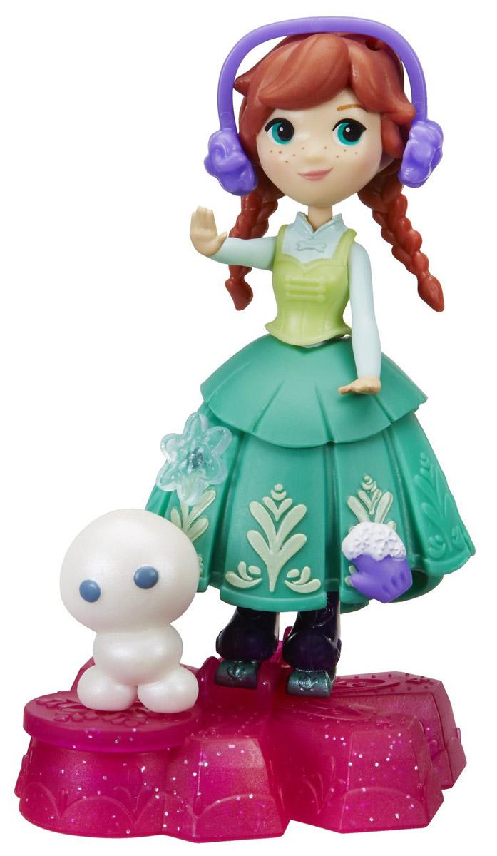 Disney Frozen Игровой набор с куклой Принцесса Анна на движущейся платформе-снежинке баталина в ред наряди принцессу нп 1803 принцесса disney сказочные развлечения