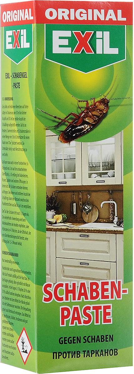Гель от тараканов Exil Schaben-Paste, 75 г201004Гель EXIL Schaben Paste - это гарантированное уничтожение тараканов и других ползающих насекомых в квартирах, складах, гаражах, подъездах и других отапливаемых помещениях. Это эффективное и надежное средство для борьбы с тараканами. Простое и удобное применение - нанесите гель на подложки и через несколько дней просто уберите мертвых насекомых. Средство не имеет запаха. Действие геля сохраняется в течение длительного времени. Товар сертифицирован. Рекомендуем!