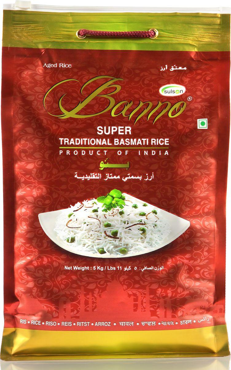 Banno Super Traditional басмати рис, 5 кг