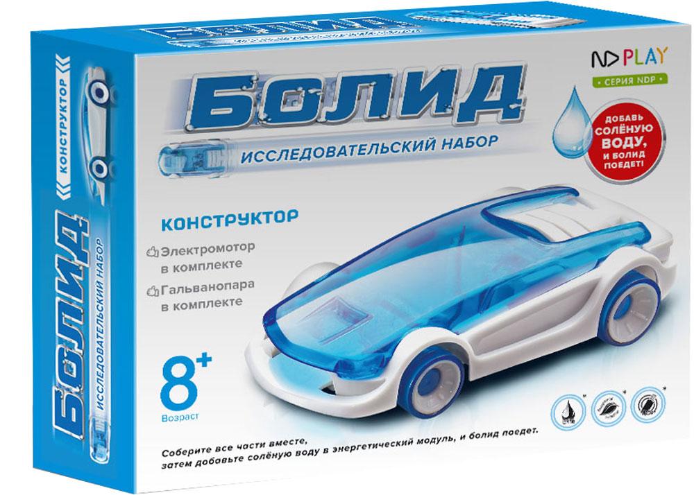 Электронный конструктор ND Play Болид конструктор развивающий hlb автомобиль на соленой воде
