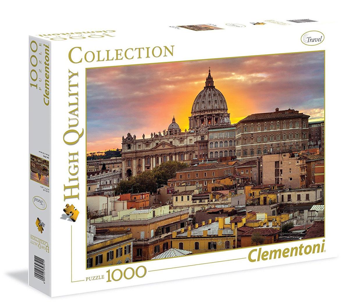 Clementoni Пазл Вечерний Рим пазл восход солнца на побережье clementoni 1500 деталей