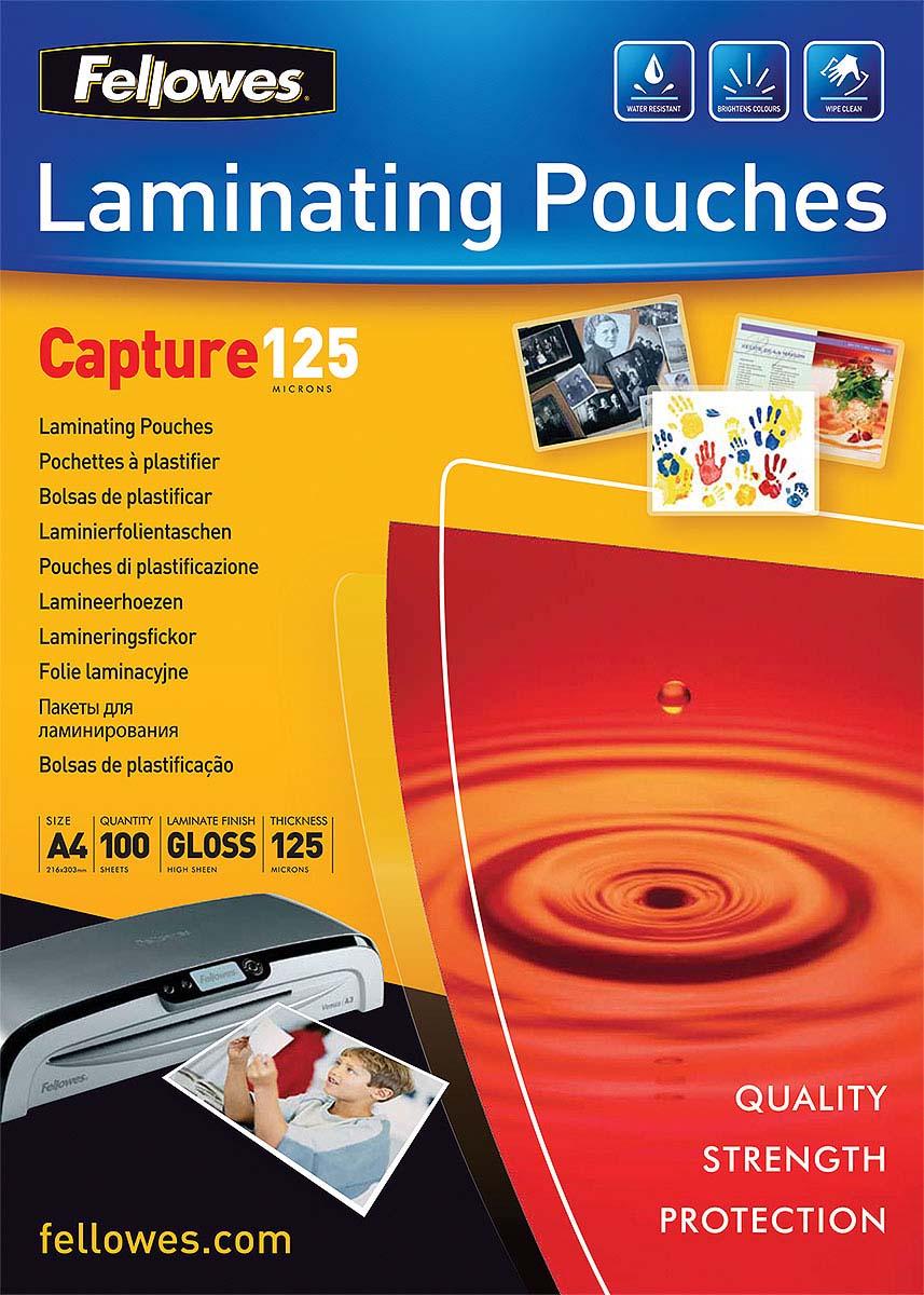 Fellowes FS-53074 A4, Transparent пленка для ламинирования (100 шт) пленка для ламинирования fellowes fs 53074