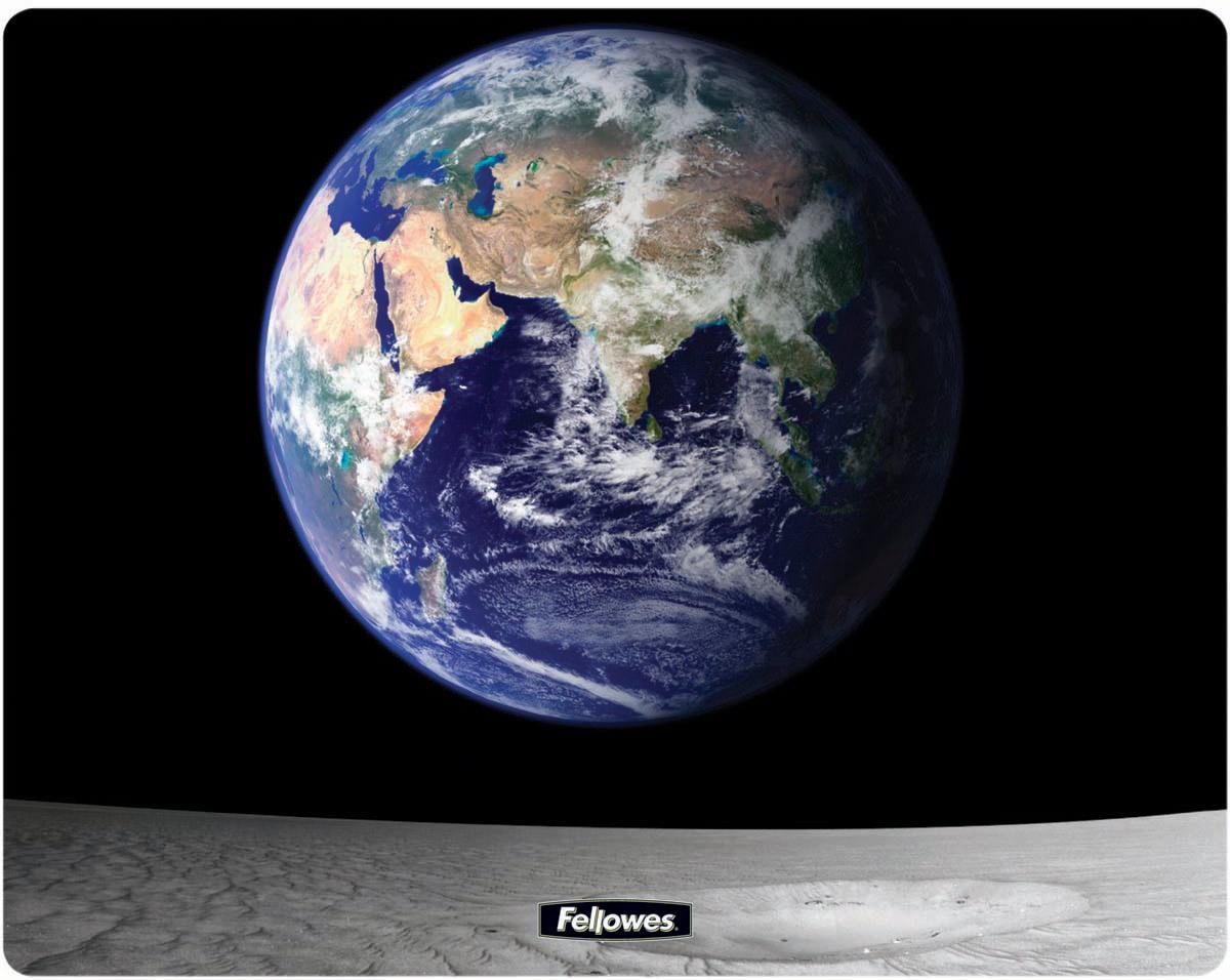 Коврик для мыши Fellowes FS-58715 Земля и Луна