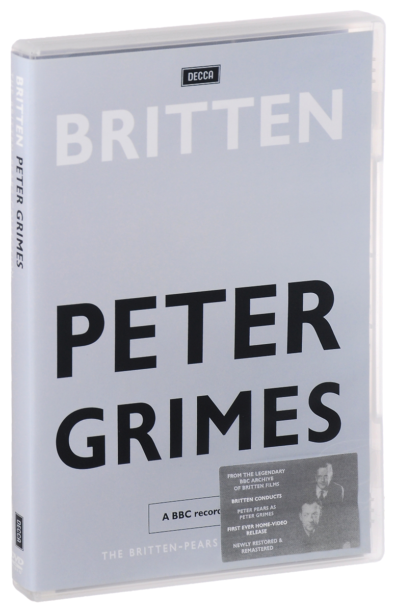 Britten: Peter Grimes: The Britten - Pears Collection benjamin britten conducts britten 7 cd