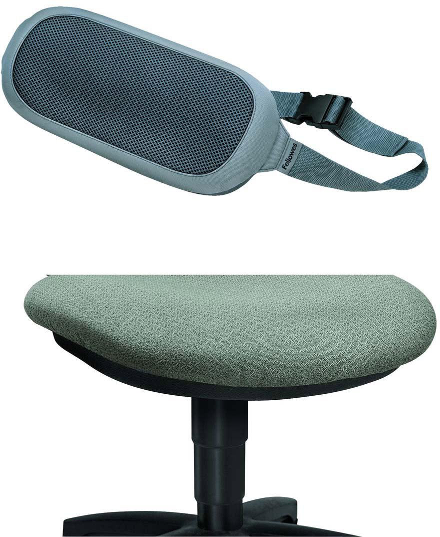 все цены на Fellowes I-Spire Series, Gray подушка для поясницы онлайн