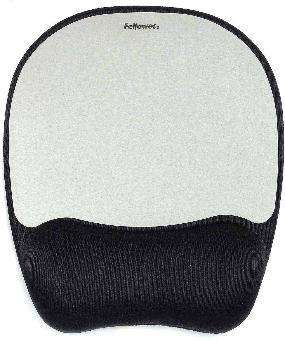 Коврик для мыши Fellowes FS-91758, Black Gray цена