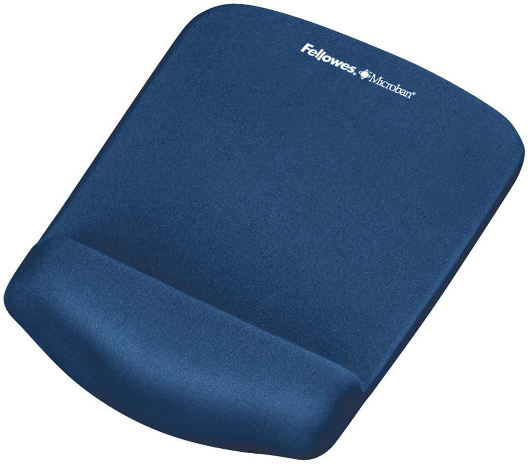 Фото - Коврик для мыши Fellowes PlushTouch, Blue пассажиры левин ecola запястья коврика для мыши ультра удобной эргономичного запястье творческого офиса утолщения увеличения