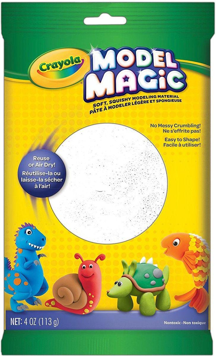 Crayola Застывающий пластилин цвет белый 113 г crayola llc crayola oil pastels 28 color set set of 12