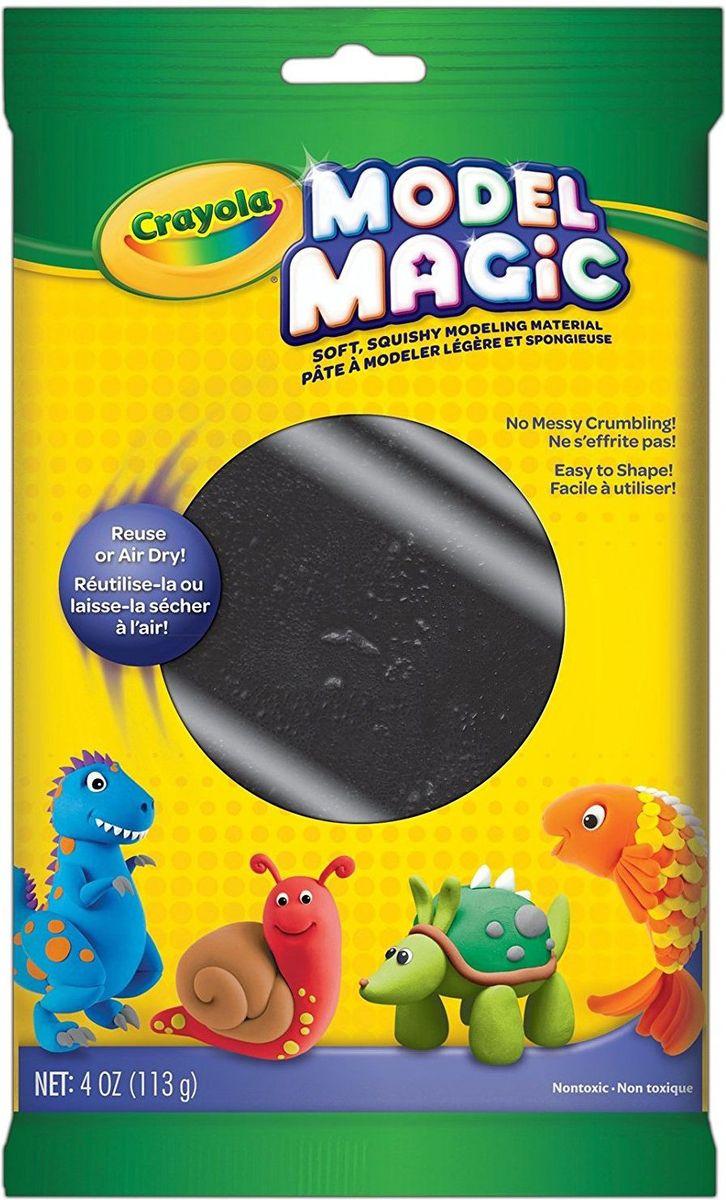 Crayola Застывающий пластилин цвет черный 113 г crayola llc crayola oil pastels 28 color set set of 12