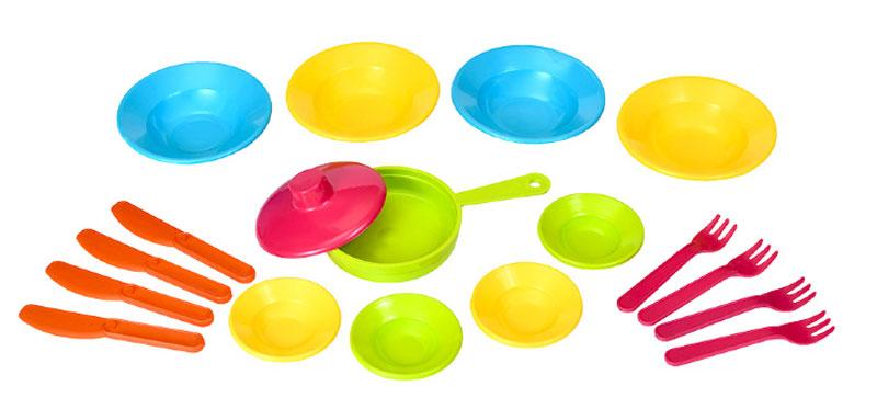 Фото - РосИгрушка Набор игрушечной посуды Первый блин росигрушка игрушечный чайный набор большая компания