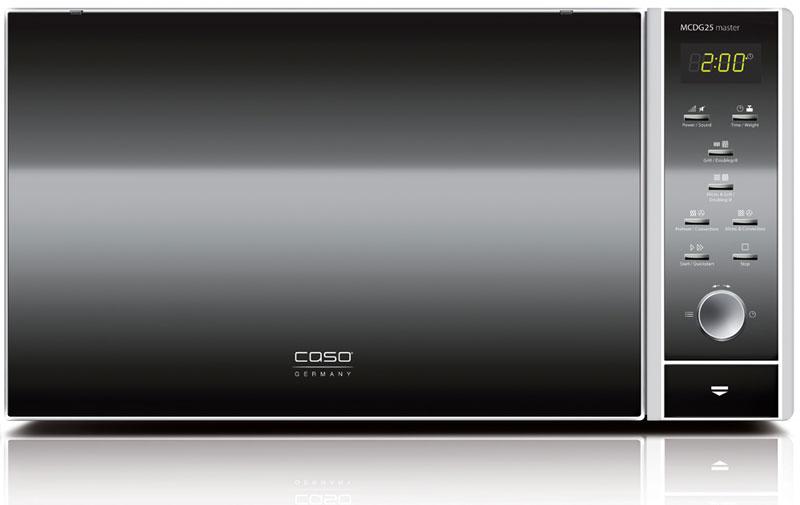 CASO MCDG 25 Master 4 in 1, Black Silver микроволновая печь микроволновая печь caso mcdg 25 master 4 in 1