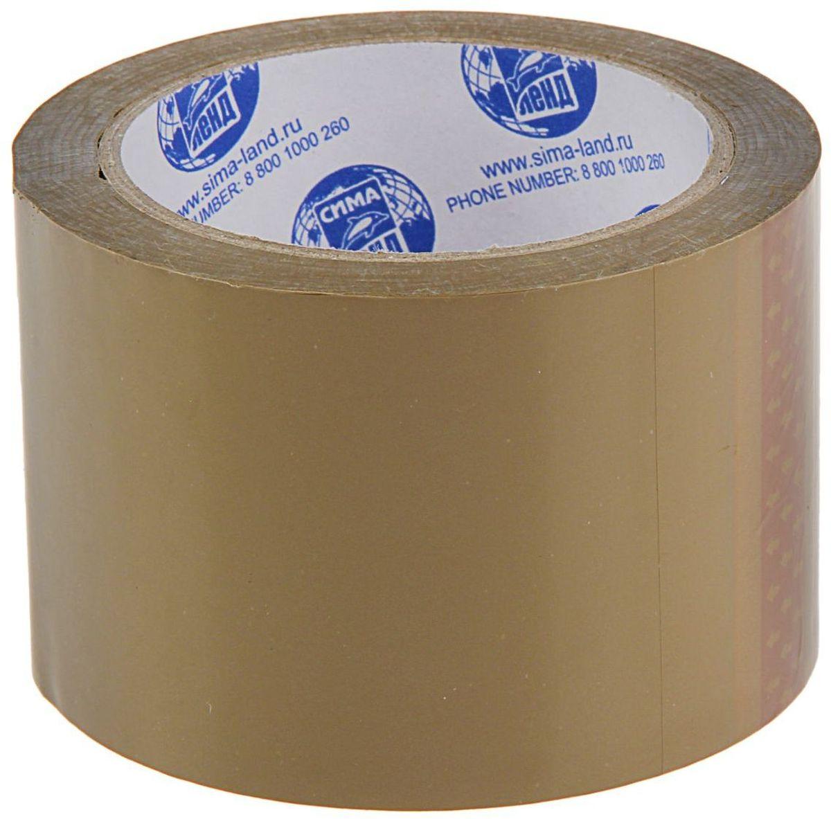 Клейкая лента 72 мм х 66 м цвет коричневый 1268214 мой выбор клейкая лента 48 мм х 66 м цвет прозрачный