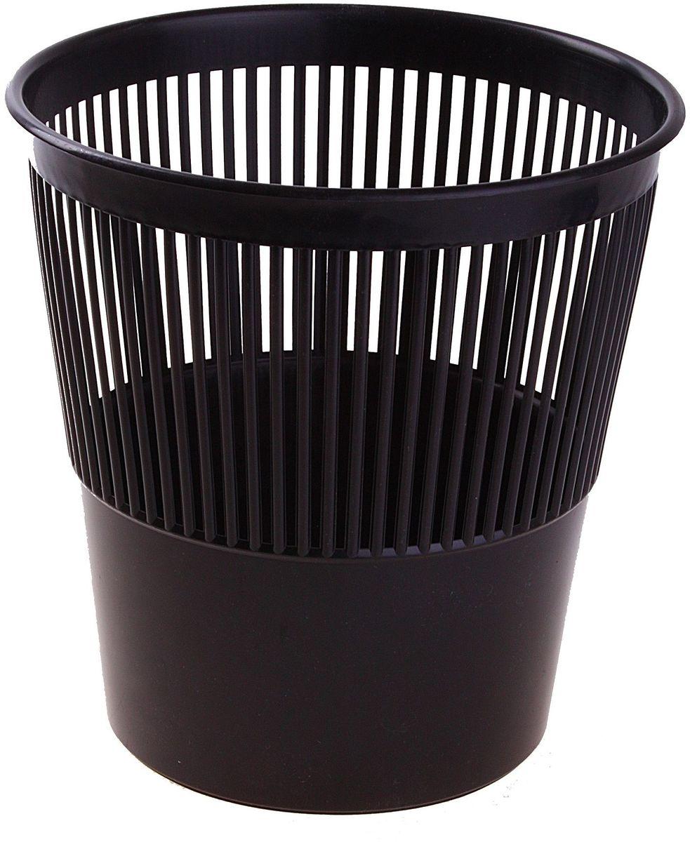 Стамм Корзина для бумаг цвет черный 9 л 584828 несгораемая корзина для бумаг 30 л 1056629