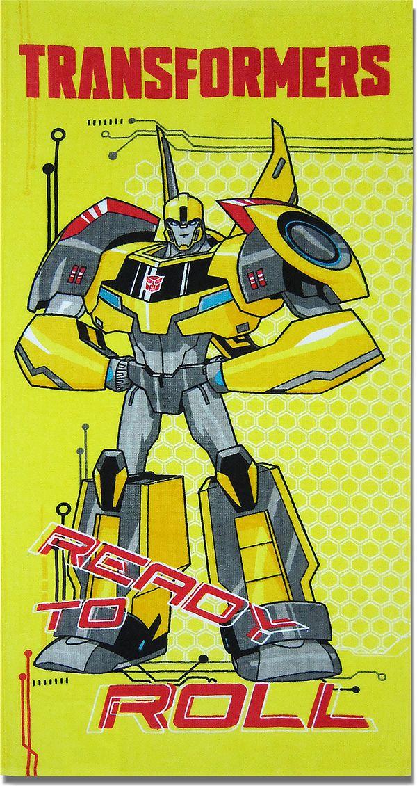Bravo Полотенце детское Трансформеры цвет желтый 60 x 120 см 1087_06