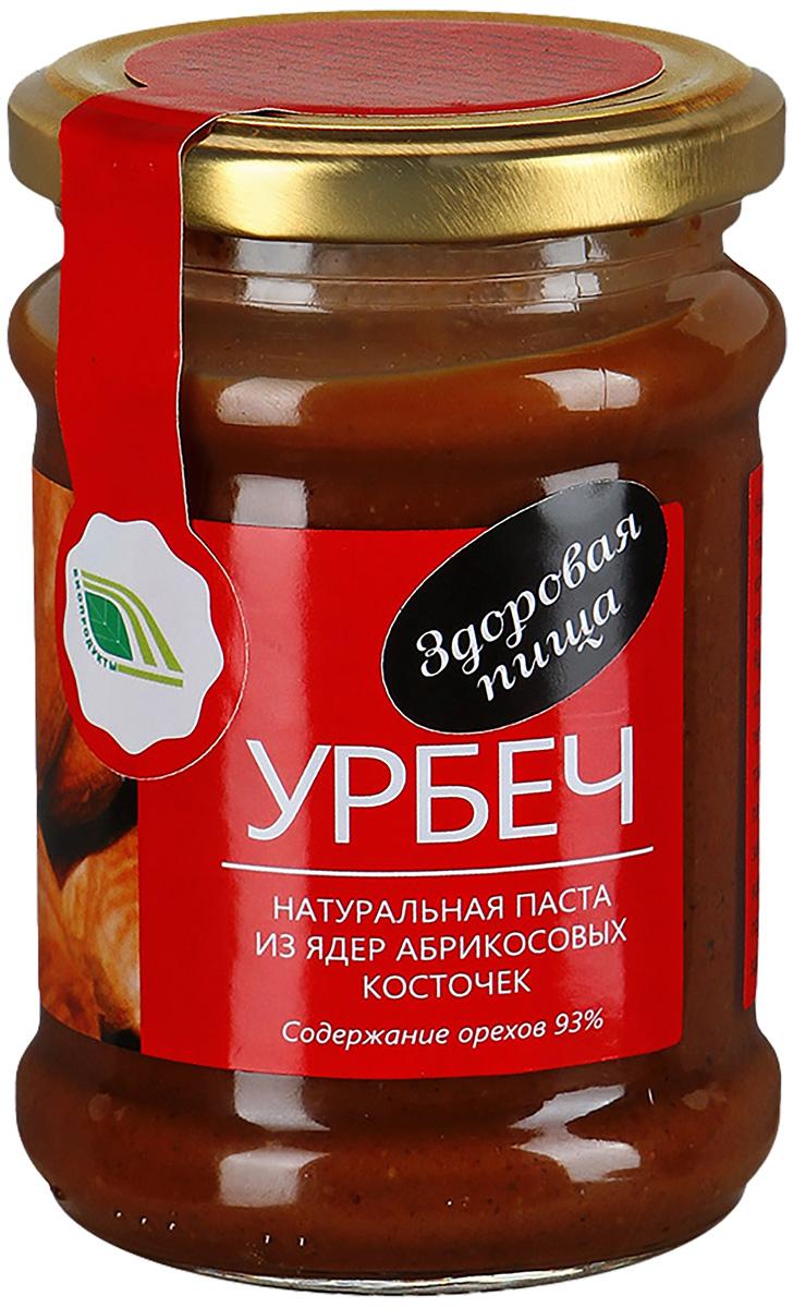 Биопродукты Урбеч натуральная паста из ядер абрикосовых косточек, 280 г биопродукты купить