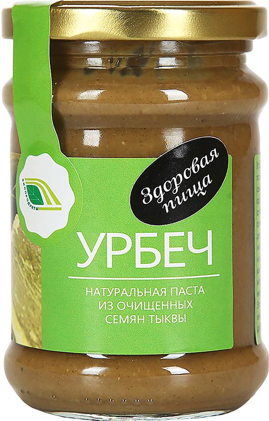 Биопродукты Урбеч натуральная паста из очищенных семян тыквы, 280 г биопродукты купить