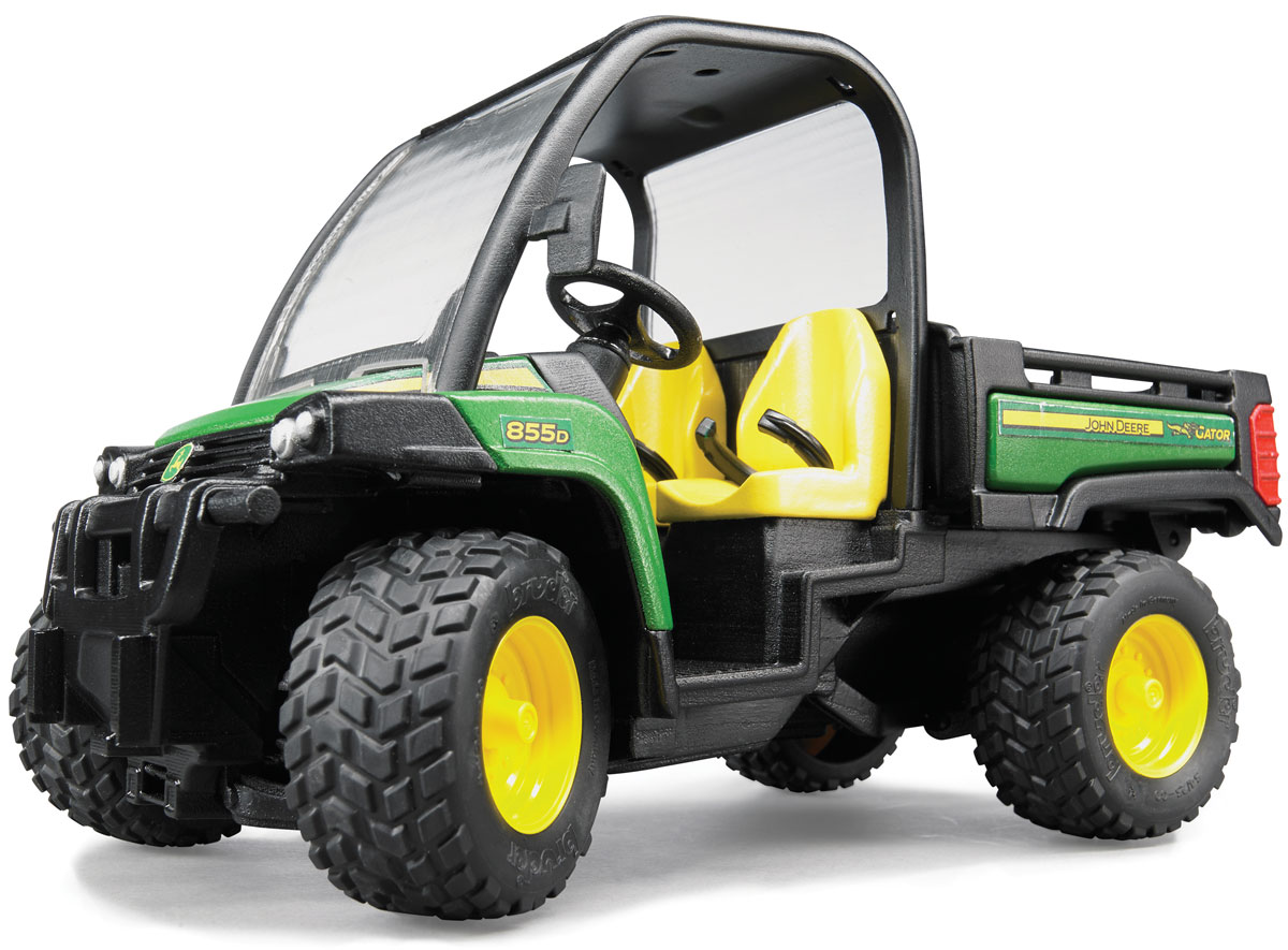 Bruder Мини-самосвал John Deere Gator XUV 855D цена