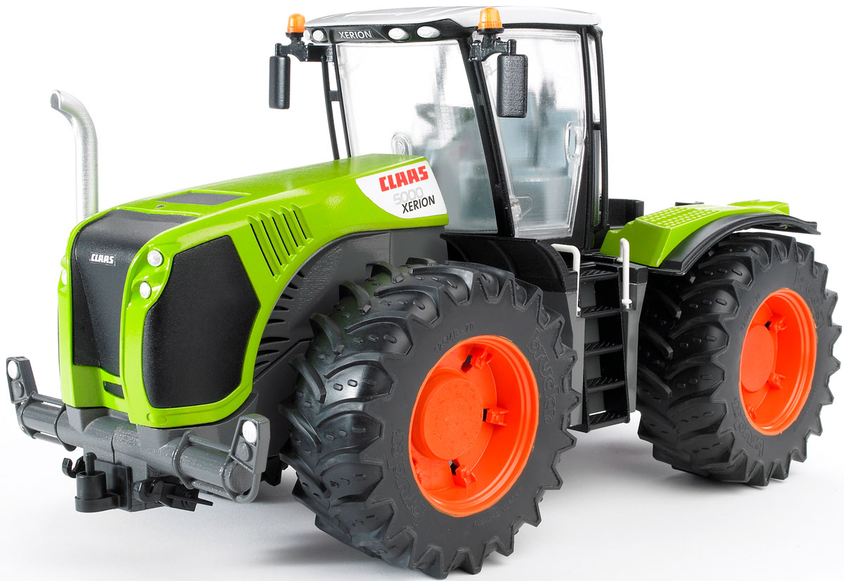 Bruder Трактор Claas Xerion 5000 с поворачивающейся кабиной трактор bruder claas nectis 267 f 02 110